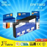 Best products refill inkjet cartridge for Epson T5852 ink cartridge with CE, SGS, STMC, ISO 14001, ISO9001 approved