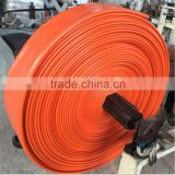 PVC Nitrile Rubber lay flat flexible sewer hose pipe