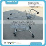 New style stainless steel 3 wheel rollator shopping cart