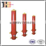 three stages telescopic hydraulic double acting cylinder for dump truck/tipper/trailer/garbage truck