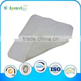 High quality bamboo cotton prefold insert for diaper cover