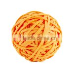 Solid Single Orange Color 45MM Bouncy Ball , Personalized Bouncy Balls , Natural Rubber Ball
