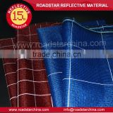 pu coated waterproof reflective fabric for bag