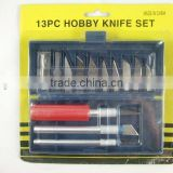 13PC HOBBY KNIFE SET FACTORY YIWU