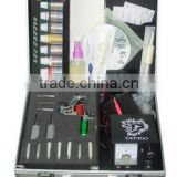 Professional and advanced tattoo kits with machine