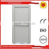 Art deco beautiful ISO entrance solid core steel main door style for sales