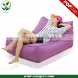 Outdoor Waterproof Double beanbag sofa lounger, Open-air bean bag couch