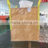 1 ton super sack packing for calcium carbonate with UV treated