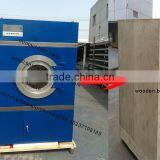 stainless steel 15-400 kg capacity hot sell in Algeria double / single door wool drying machine