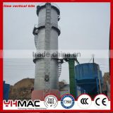 Zhengzhou Yuhong 100tpd Small Quick lime Shaft Kiln Production Line Plant Hotsale in Central Asia Afica
