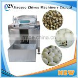 egg shell breaking machine/boiled egg peeling shelling machine