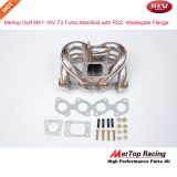 Mertop Race Stainless steel VW Golf 1 MK1 16v 1.8L and 2L T3 Turbo exhaust Manifold with Audi RS2 Wastegate flange