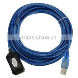 10m USB 2.0 Extension Cable Type A male to Female with signal amplifier