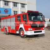 China truck HOWO water fire truck with fire fighting cannon