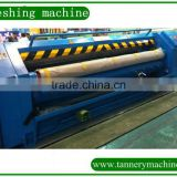 tannery machine hydraulic wool leather fleshing machine supplier