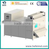 Glass/rubber/plastic recycled machines, color separating machine, glass optial sorting machine