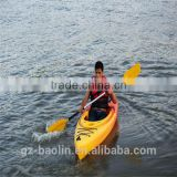 OEM Good quality plastic rowing boat
