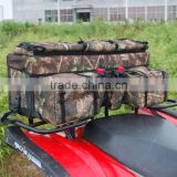 ATV/quad Rear Rifle cargo Bag (Black/Camo)