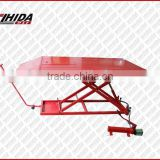Good Quality 1500LB Air/Hydraulic Motorcycle Lift Table with CE