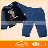 Inroom Wear Baby Casual Underwear Kids Pyjamas Set pajamas