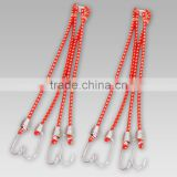 elastic rubber rope with 4 hooks from china manufacturer