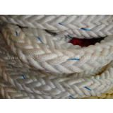 12 strands braided pp mooring rope