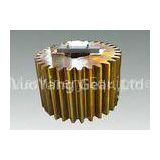High Hardness Machining And Heat Treatment Gear , Spur Gear For Transmission Equipment For Ship