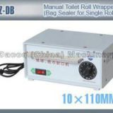 TZ-DB Manual Toilet Tissue Paper Roll Wrapper Packing Machines Bag Sealer For Single Roll