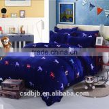 2017 NEW LITTLE CARTOON HORSE 4PCS BEDDING SET