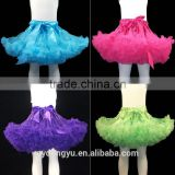 girl amazing tutu ballet pettiskirt princess dance skirt/ girl knee length princess dress/new design girl printed dress