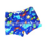 New Design Children Baby Swimwear Cartoon Boys Swimming Pants + Hat Swimsuit