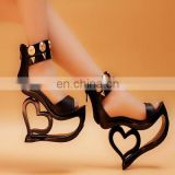 Factory Wholesale Shoes Fancy Heel Shoe Women Shoes Ladies Sandal