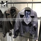Fashion Leather Jacket Made of Sheep Nappa Leather Jacket
