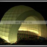 Best Selling Inflatable LED Light Round Kiosk Round Photo Enclosure Spray Portable Booth
