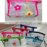 manufacturer 2015 promotional travel pvc cosmetic bag/ cheap makeup bag