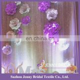 BCK133 paper flower backdrop wedding party backdrop sequin backdrop