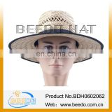 2014 Hollow grass straw hat funny cowboy hat