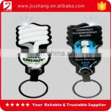 New design cheap pvc keychain key holder with led light wholesales