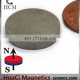 "SmCo Magnets Dia 3/4""X1/8"" Samarium Cobalt Magnets 608F Temperature"