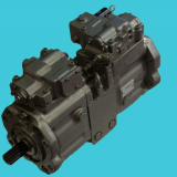 K3v112dt-1xer-9n24-2 Axial Single Kawasaki Hydraulic Piston Pump 2 Stage