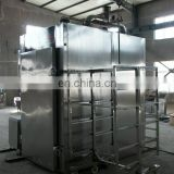 New type of China professional automatic fish and meat smoking furnace meat smoking oven meat smoking making for sale