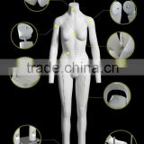Wholesale Ghost Mannequin Invisibility Dummy Women model with magnetic Movable Dummy GH21