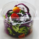 16oz/500ml disposable PET deli container with lid,clear plastic salad container, clear plastic fruit box with lid