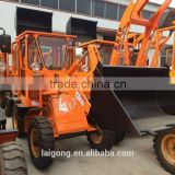 Wheel loader with side dump bucket wheel loader; small garden tractor loader for mine, building