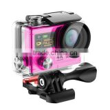 4K Waterpoof Action Camera with 2INCH LCD Screen and 0.95INCH Front Status Screen, 360 Degree Panorama Action Camera with WiFi