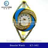 beautiful crystal watch glass face bangle watches for girls sporting goods bracelet watch