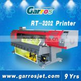 best 320cm large format eco solvent printer,Garros roll to roll inkjet plotter printer in china