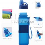 New Products 2016 Collapsible Foldable Drinking Bottle