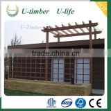 Hot Sale WPC Garden Pergola for Private House