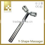 2015 New product Ge point mini massager, Y shape bar on sale, V face thin face magic beauty equipment